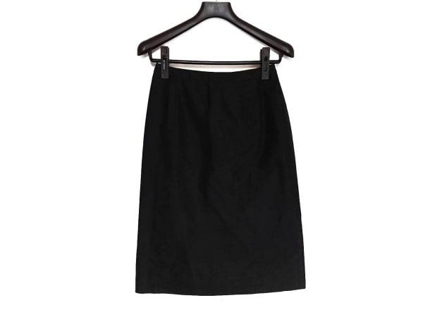 オールドイングランド スカート サイズ36 S レディース美品  黒 シルク混