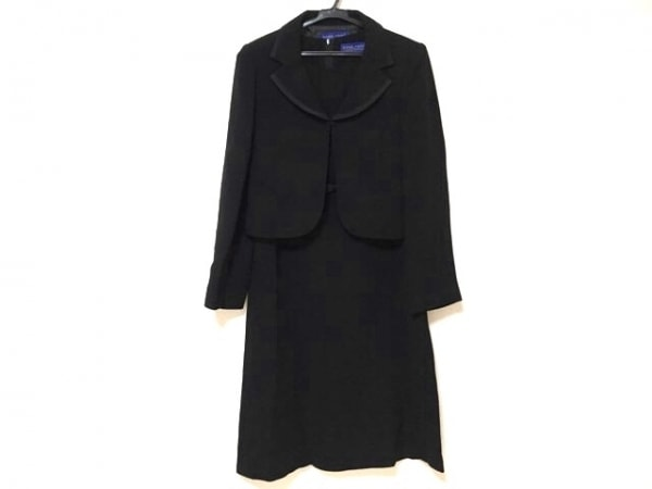 CARVEN(カルヴェン) ワンピーススーツ サイズ9 M レディース美品  黒 ROND POINT