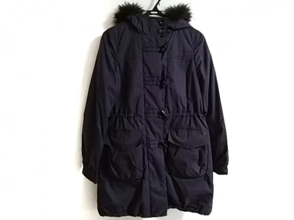 コムサデモード コート サイズ9 M レディース美品  パープル 中綿/冬物