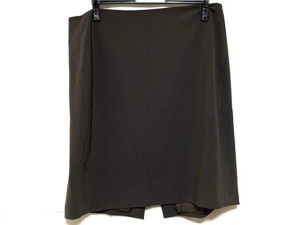 ST.JOHN(セントジョン) スカート サイズ8 M レディース美品  ダークグレー