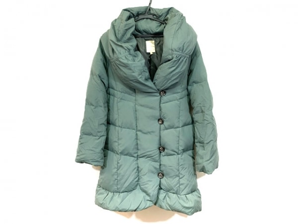 BEAMSHEART(ビームスハート) ダウンジャケット サイズ1 S レディース グリーン 冬物