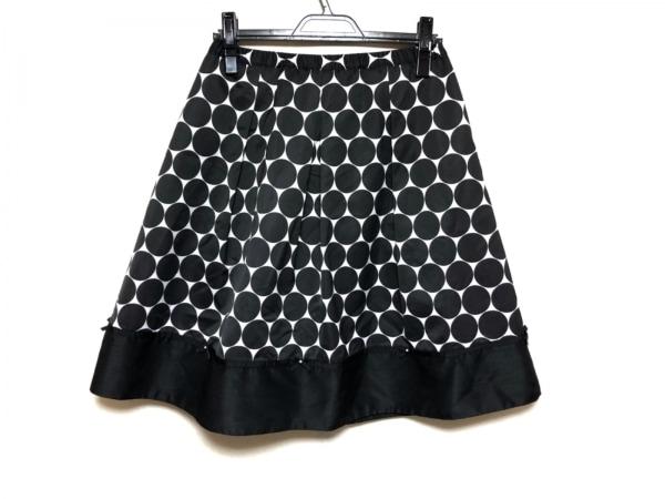 SUPERBEAUTY(スーパービューティー) スカート サイズ40 M レディース美品  黒×白