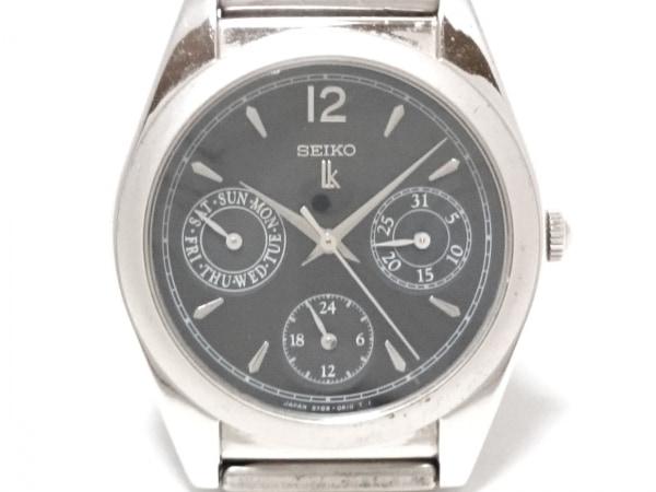 SEIKO(セイコー) 腕時計 ルキア 5Y89-0A10 レディース トリプルカレンダー 黒