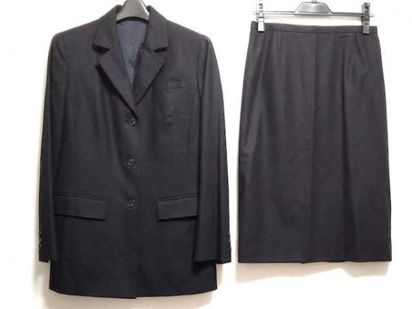 Burberry LONDON(バーバリーロンドン) スカートスーツ サイズ42 XL レディース 黒