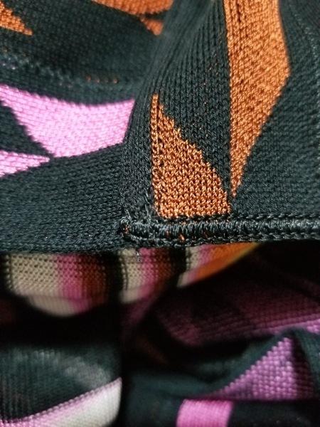 MISSONI(ミッソーニ) ボレロ サイズS レディース美品  黒×ピンク×マルチ