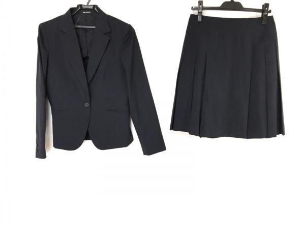 COMME CA ISM(コムサイズム) スカートスーツ レディース ダークネイビー