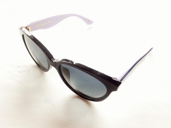 クリスチャンディオール サングラス DiorEnvol3 黒×パープル プラスチック