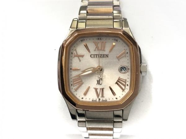 CITIZEN(シチズン) 腕時計 XC H058-T017568 レディース アイボリーピンク