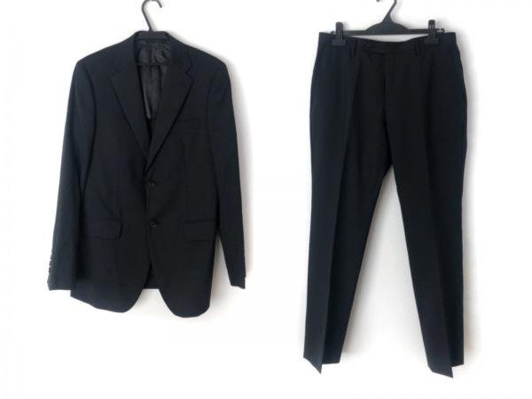 COMME CA ISM(コムサイズム) シングルスーツ サイズL メンズ 黒