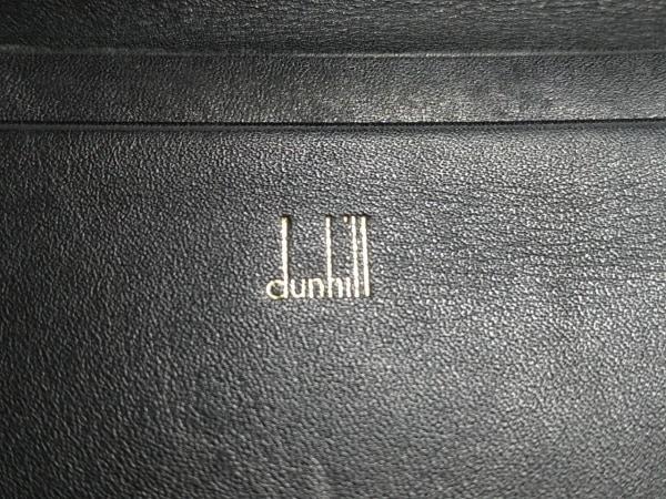 dunhill/ALFREDDUNHILL(ダンヒル) 名刺入れ 黒 レザー