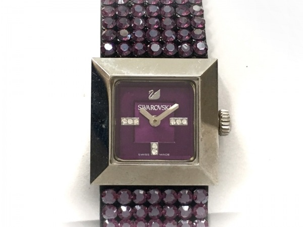SWAROVSKI(スワロフスキー) 腕時計 レディース パープル 1