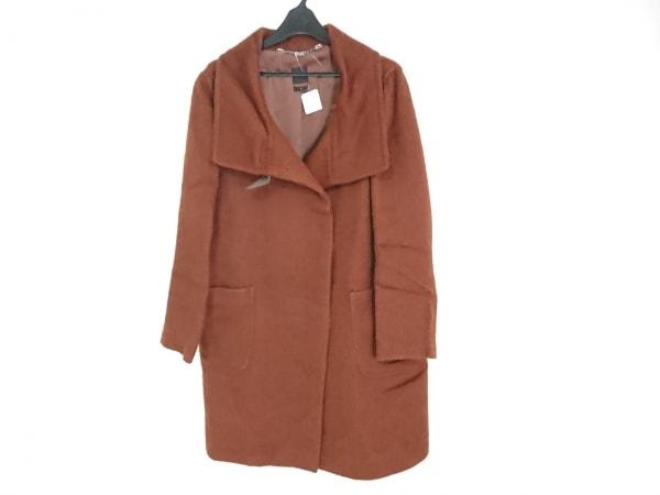 SEVENTY(セブンティ) コート サイズ42 L レディース美品  ブラウン 冬物