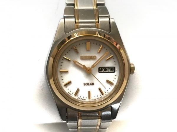 SEIKO(セイコー) 腕時計美品  V138-0AA0 レディース 白