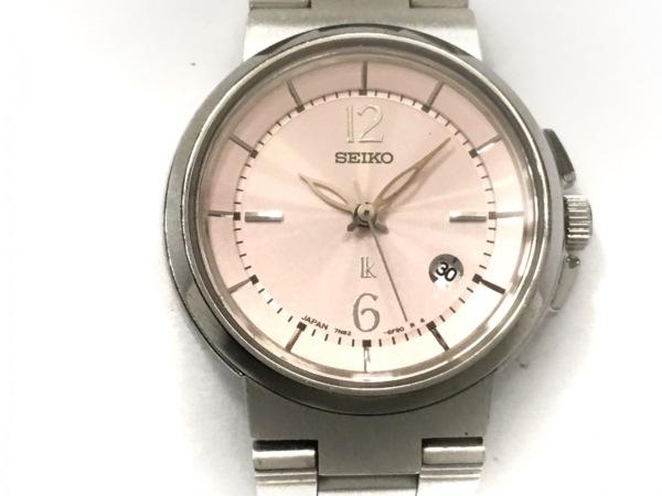 SEIKO(セイコー) 腕時計美品  ルキア 7N82-6E00 レディース ピンク