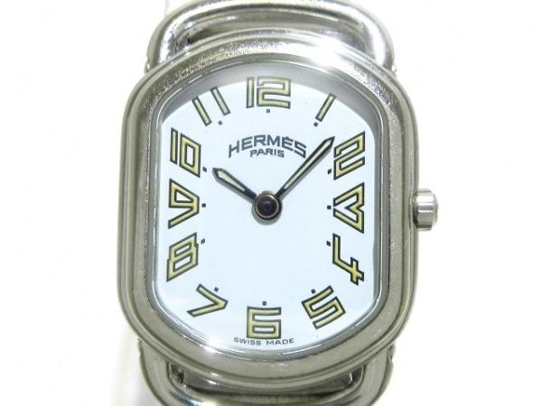 HERMES(エルメス) 腕時計 ラリー RA1.210 レディース 白