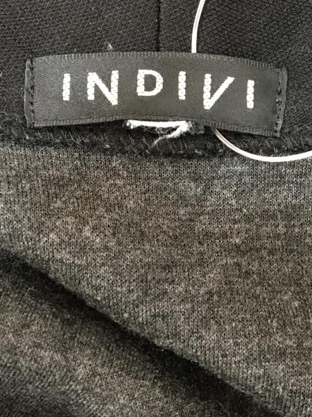 INDIVI(インディビ) コート レディース 黒 春・秋物