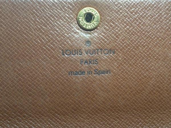 ルイヴィトン 長財布 モノグラム ポシェット・ポルト モネ クレディ M61725