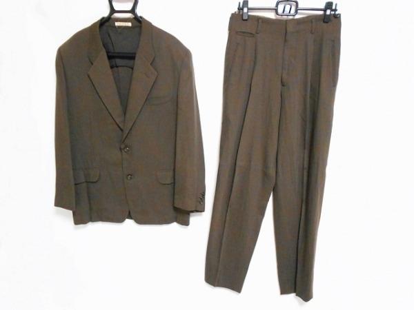 NICOLE(ニコル) シングルスーツ サイズM メンズ ダークブラウン