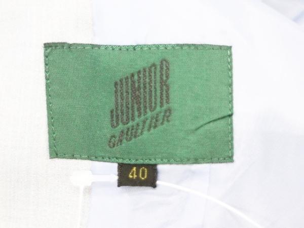 JeanPaulGAULTIER(ゴルチエ) ジャケット サイズ40 M レディース ライトグレー