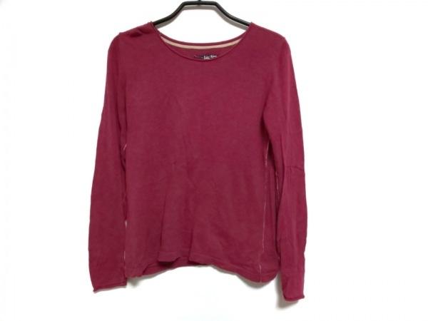 Pallas Palace(パラスパレス) 長袖セーター サイズ3 L レディース レッド×アイボリー