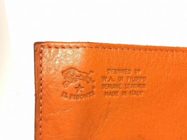 IL BISONTE(イルビゾンテ) 長財布 オレンジ レザー