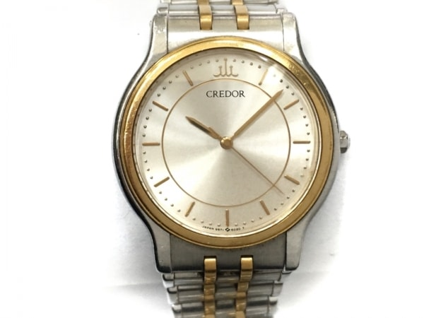 SEIKO(セイコー) 腕時計 クレドール 9571-6020 レディース アイボリー