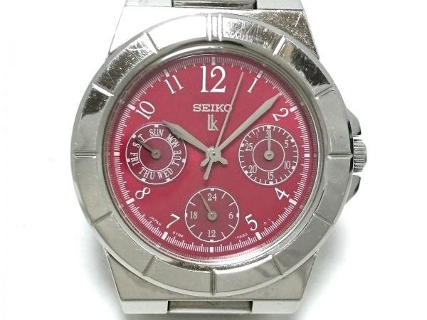 SEIKO(セイコー) 腕時計 ルキア 5Y89-0B30 レディース レッド