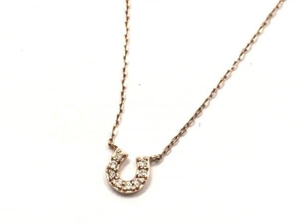 canal4℃(カナルヨンドシー) ネックレス美品  K10×ダイヤモンド