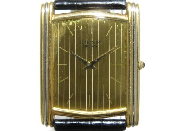 SEIKO CREDOR(セイコークレドール) 腕時計 9300-5020 メンズ K18 ゴールド