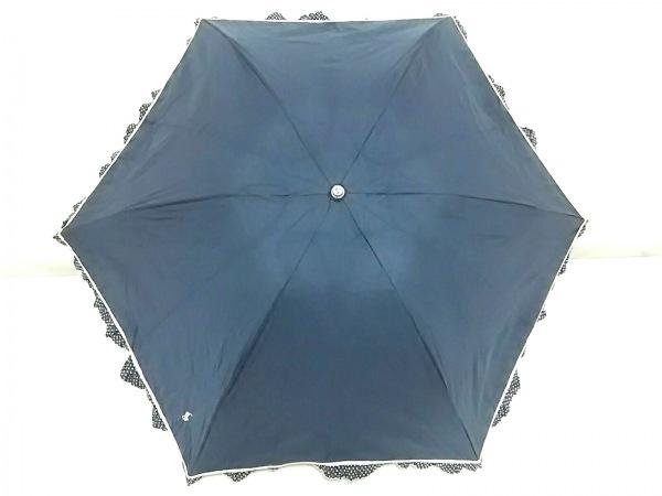 RalphLauren(ラルフローレン) 日傘 ネイビー 折りたたみ 化学繊維
