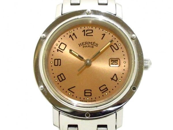 HERMES(エルメス) 腕時計 クリッパー CL4.410 レディース ライトブラウン