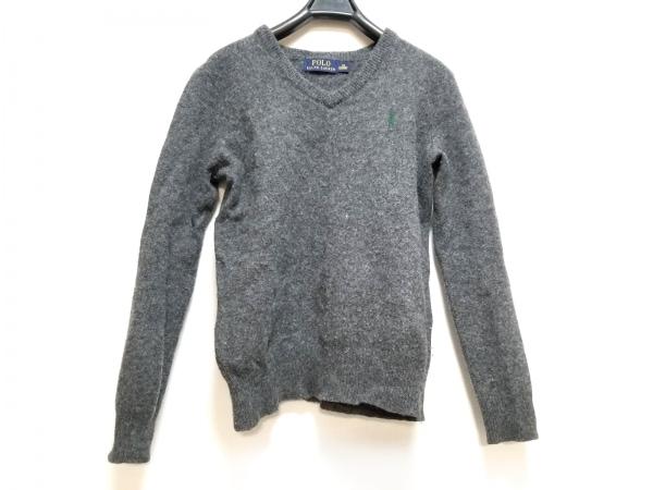 ポロラルフローレン 長袖セーター サイズXS レディース ダークグレー