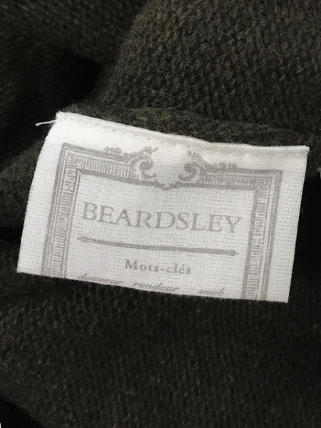 BEARDSLEY(ビアズリー) 長袖セーター サイズF レディース カーキ フリル