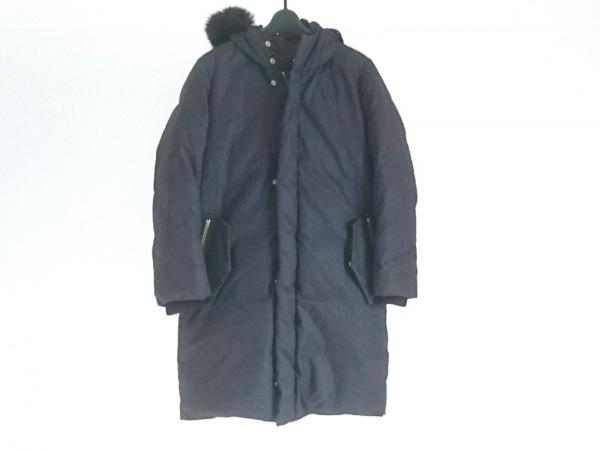 Drawer(ドゥロワー) ダウンコート サイズ38 M レディース ダークネイビー 冬物