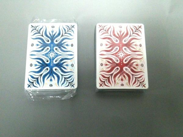 HERMES(エルメス) 小物美品  ブルー×レッド×マルチ トランプ プラスチック