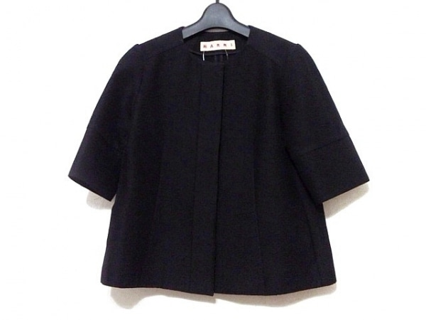 MARNI(マルニ) ジャケット サイズ38 S レディース美品  黒