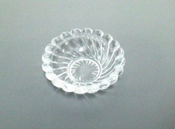 Baccarat(バカラ) 小物美品  クリア 灰皿 クリスタルガラス