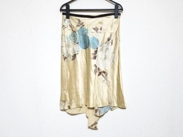 ANNA MOLINARI(アンナモリナーリ) スカート サイズI40 M レディース美品  花柄