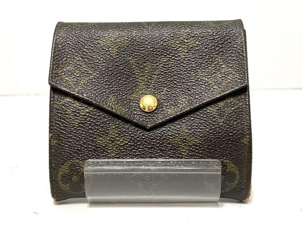 ルイヴィトン Wホック財布 モノグラム 旧型Wホック財布 M61660 モノグラム・キャンバス