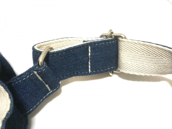 HYSTERIC GLAMOUR(ヒステリックグラマー) リュックサック ブルー×アイボリー デニム