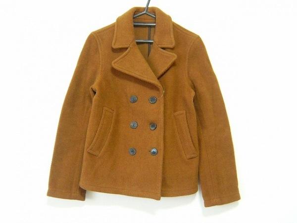 Lois CRAYON(ロイスクレヨン) コート サイズM レディース ブラウン 冬物/ショート丈