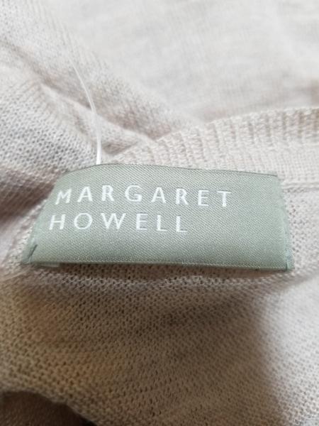 マーガレットハウエル カーディガン サイズ2 M レディース美品  ピンク