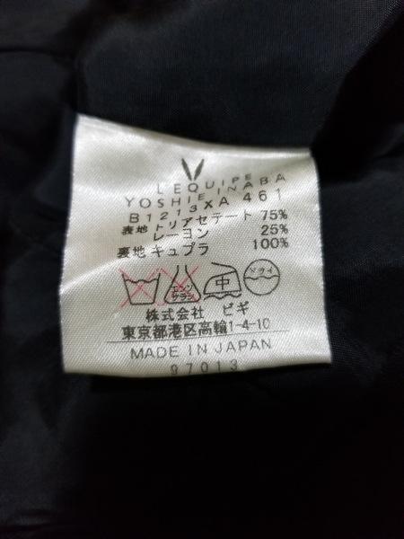 レキップ ヨシエイナバ ワンピース サイズ9 M レディース美品  黒 ロング丈