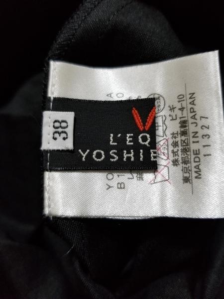 レキップ ヨシエイナバ ワンピース サイズ38 M レディース美品  黒