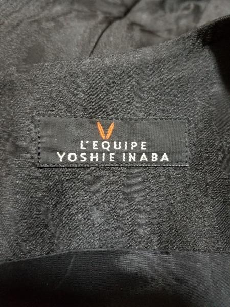 レキップ ヨシエイナバ ワンピース サイズ38 M レディース美品  黒 バルーン