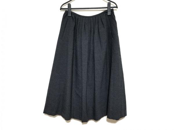 マーガレットハウエル ロングスカート サイズ1 S レディース美品  ストライプ