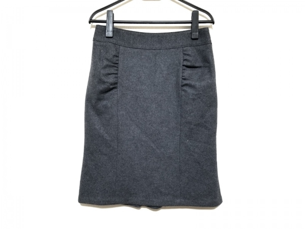 Pinky&Dianne(ピンキー&ダイアン) スカート サイズ40 M レディース美品  ダークグレー