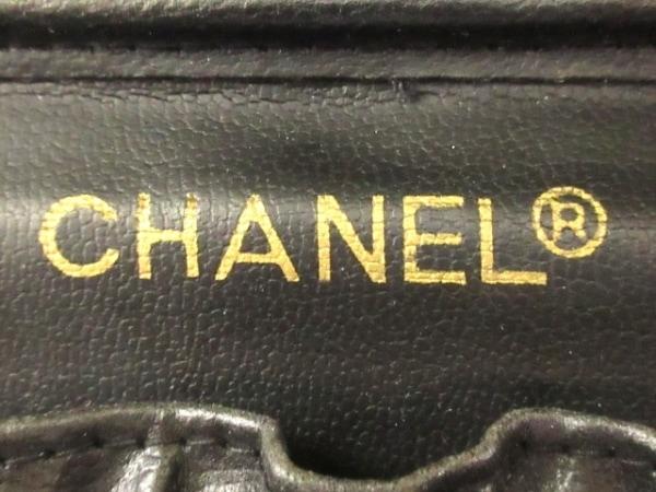 CHANEL(シャネル) バニティバッグ ビコローレ A01618 黒 レザー 7