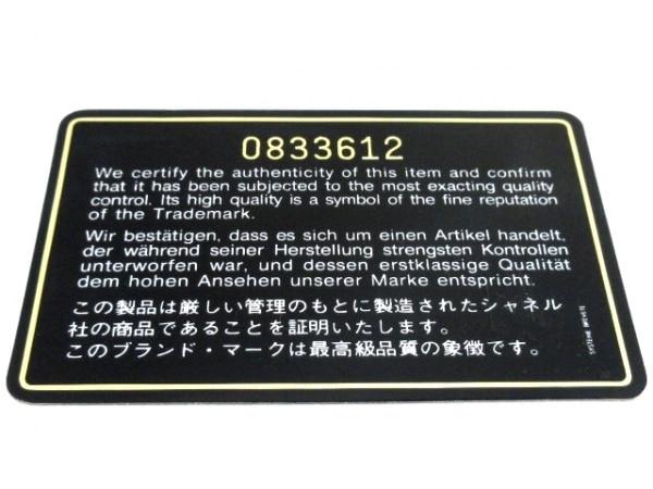 CHANEL(シャネル) バニティバッグ ビコローレ A01618 黒 レザー 9