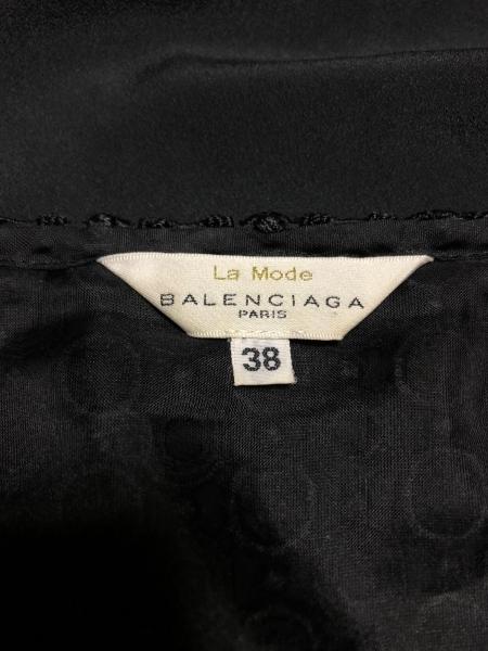 BALENCIAGA(バレンシアガ) スカートセットアップ サイズ38 M レディース 黒